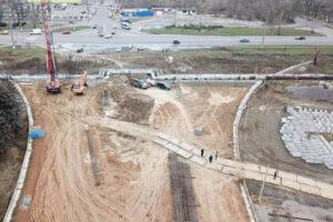 Арсенал теперь охраняет строительство мостоперехода «ХБК-Таврический»!